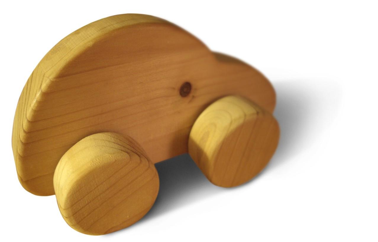 Drewniane zabawki to świetny pomysł